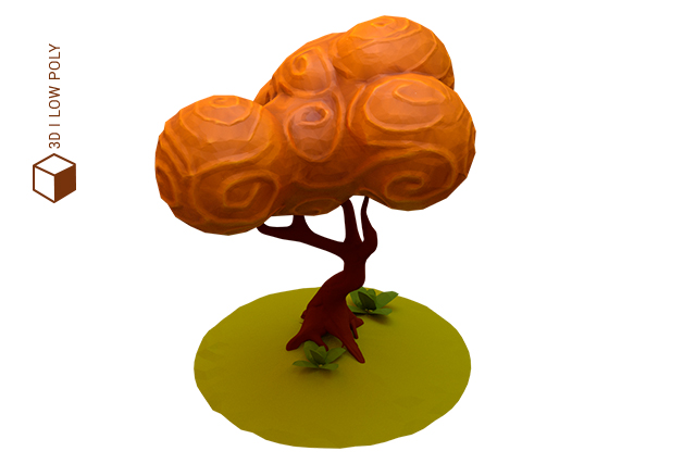 arbol low poly