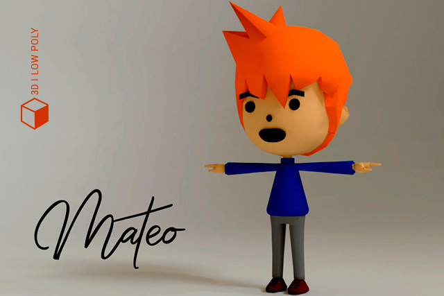 mateo low poly